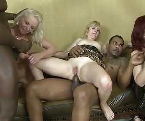 Was and mature double fuck