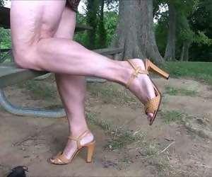 Mature Legs Tube