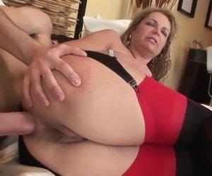 Mature anal stream